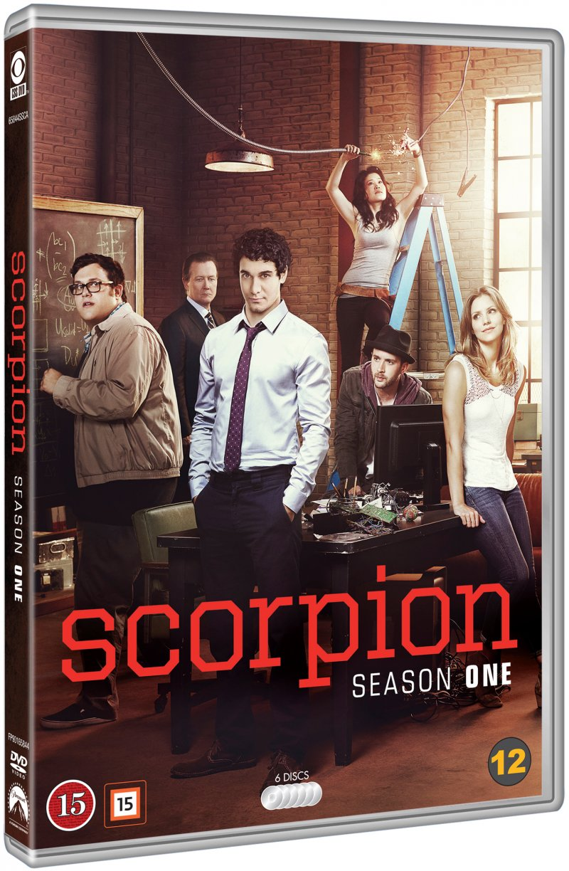 Image of   Scorpion: Sæson 1 - DVD - Tv-serie