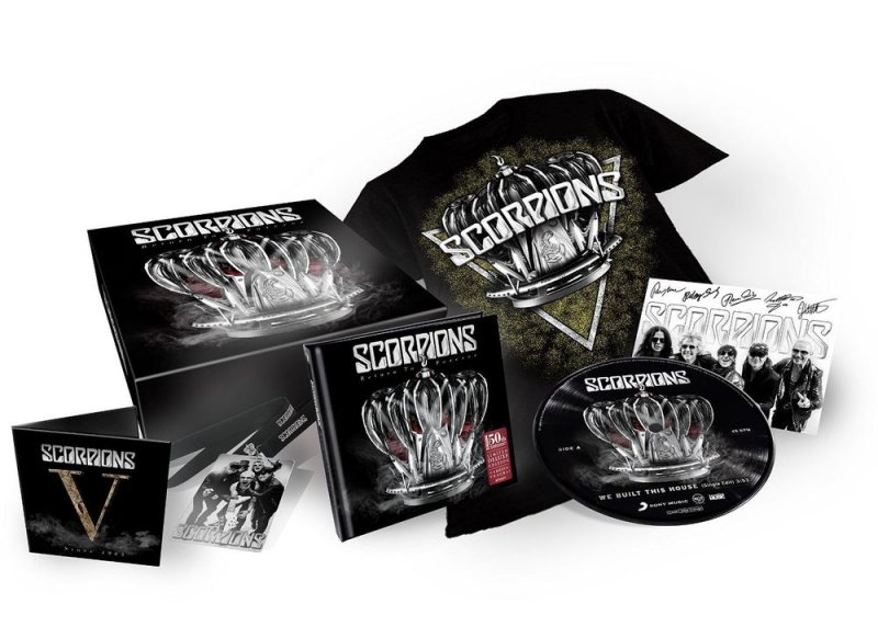 Scorpions - Return To Forever - 50th Anniversary Collectors Box - CD