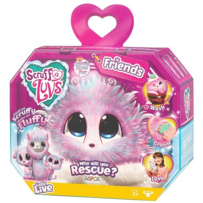 Scruff-a-luv - Candy Floss Bamse