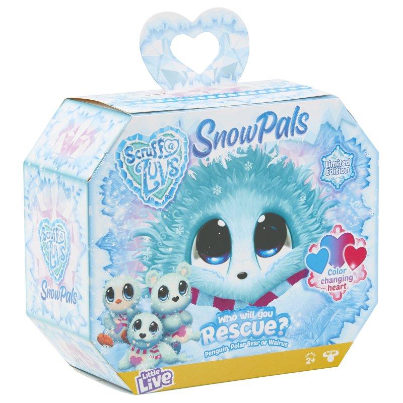 Scruff-a-luvs - Snow Pals - Bamse Dyr - Limited Edition
