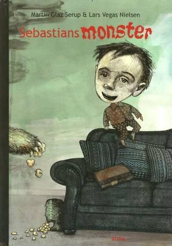 Image of   Sebastians Monster - Martin Glaz Serup - Bog