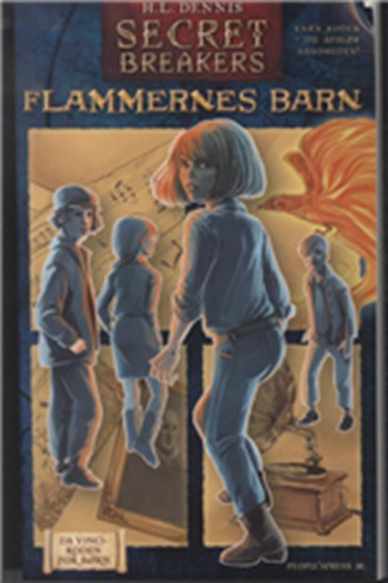 Secret Breakers 2 - Flammernes Barn - H.l. Dennis - Bog