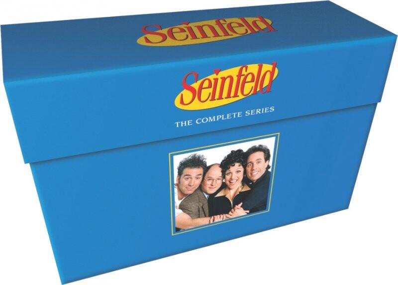 Seinfeld Dvd Box Set - Sæson 1-9 Komplet - DVD - Tv-serie