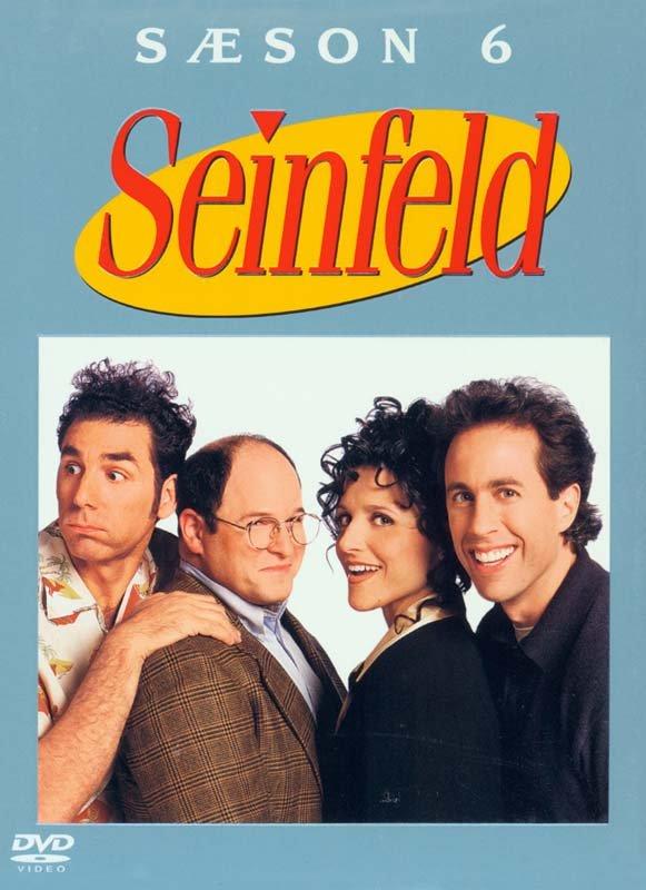Seinfeld - Sæson 6 - DVD - Tv-serie