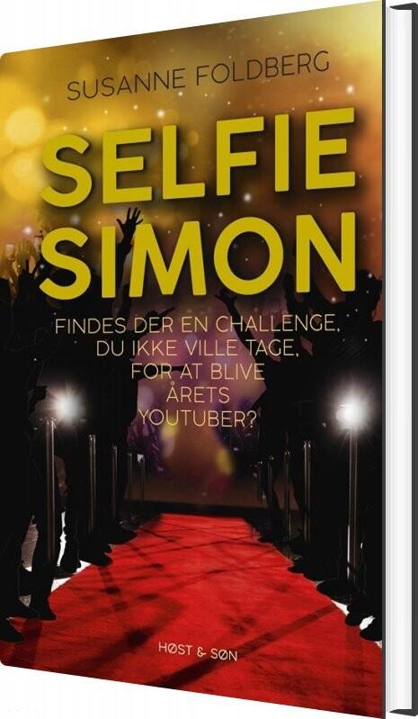 Image of   Selfie-simon - Susanne Foldberg - Bog
