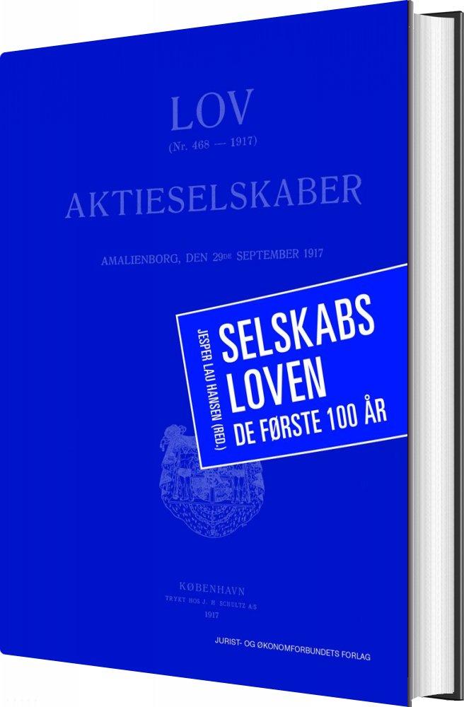 Image of   Selskabsloven - Jesper Lau Hansen - Bog