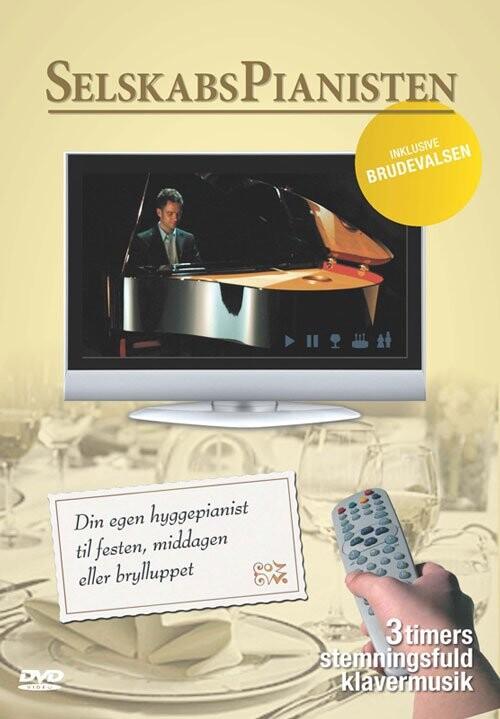 Image of   Selskabspianisten - DVD - Film