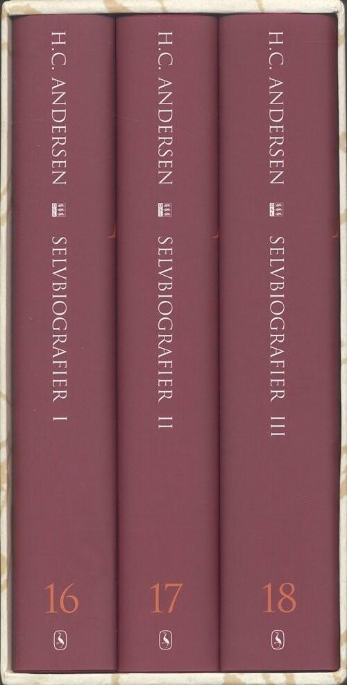 Selvbiografier I-iii - H.c. Andersen - Bog