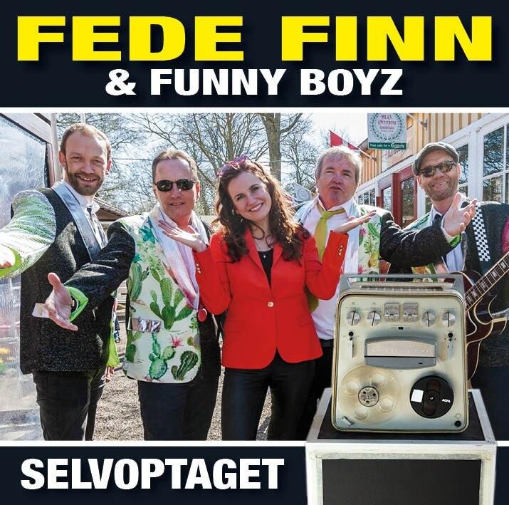 Image of   Fede Finn Og Funny Boyz - Selvoptaget - CD