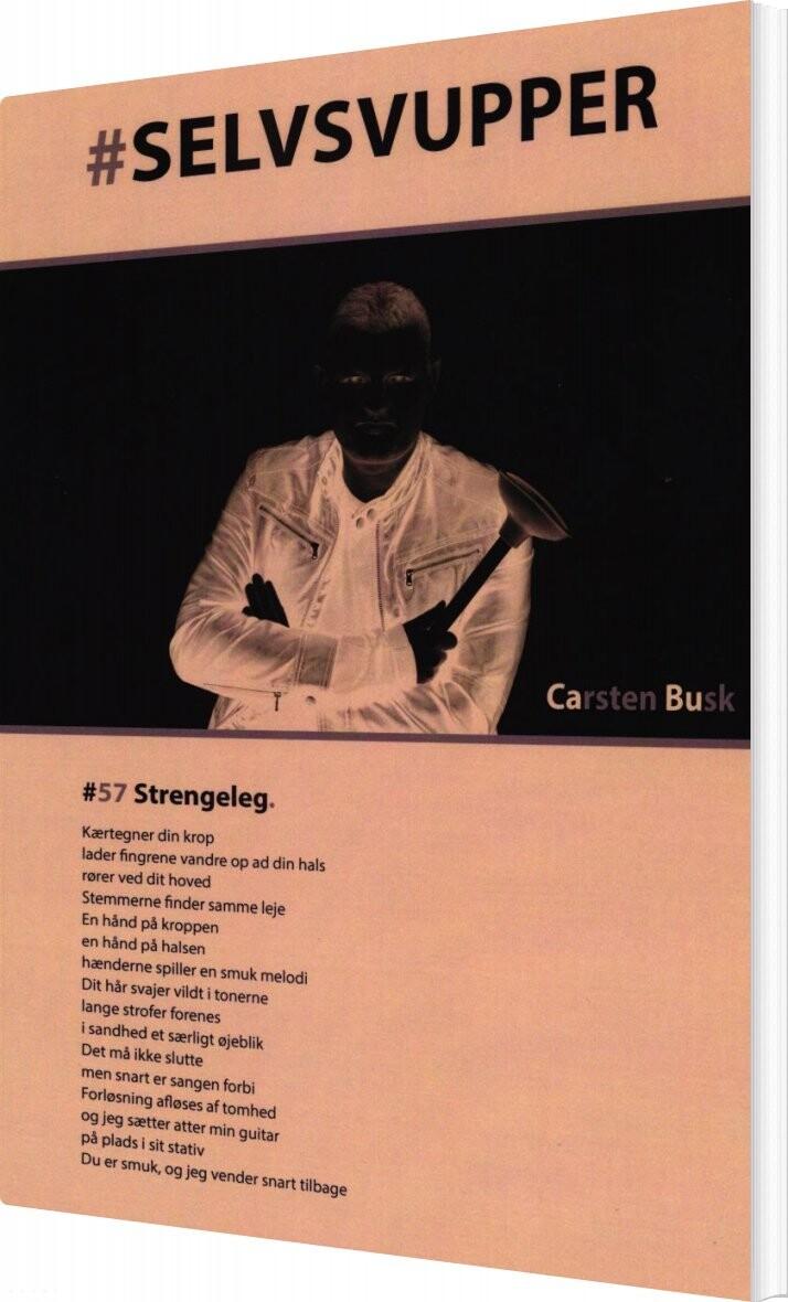 Image of   #selvsvupper - Carsten Busk - Bog
