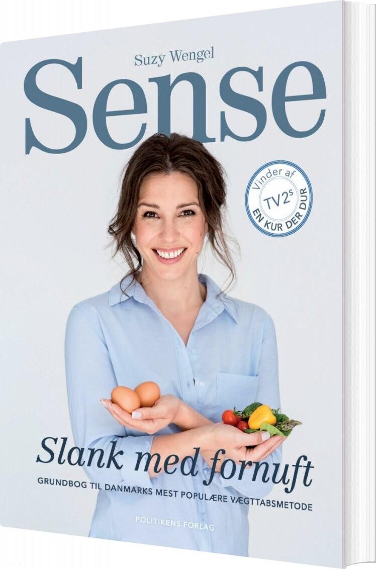 Sense - Slank Med Fornuft - Suzy Wengel - Bog