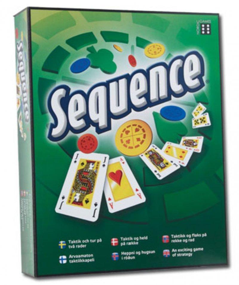 Sequence spil, Sequence brætspil, spil sequence, sekvens spil, brætspil sequence, familiespil,
