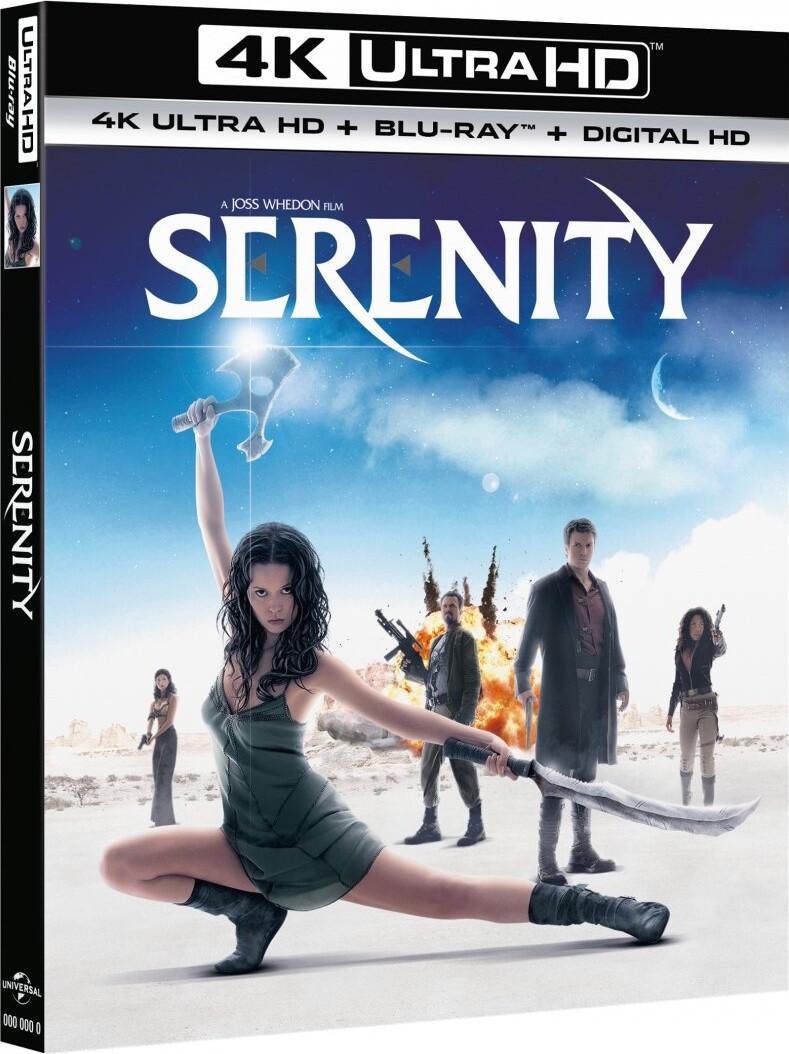 Image of   Serenity - 4K Blu-Ray