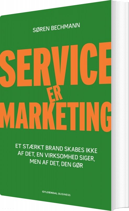 Image of   Service Er Marketing - Søren Bechmann - Bog