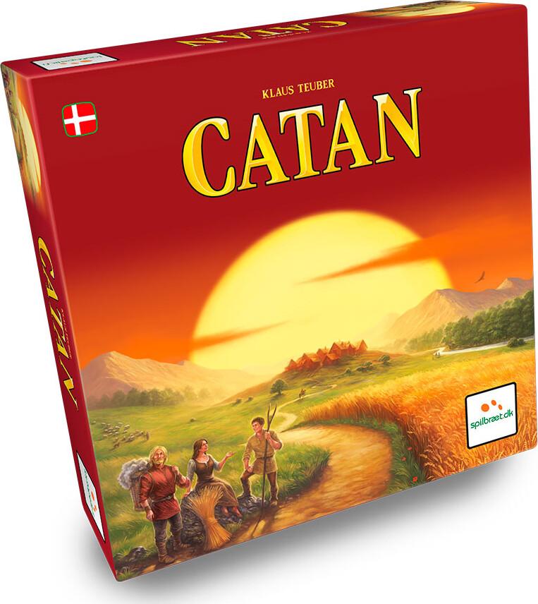 Settlers Of Catan - Grundspillet - Brætspil
