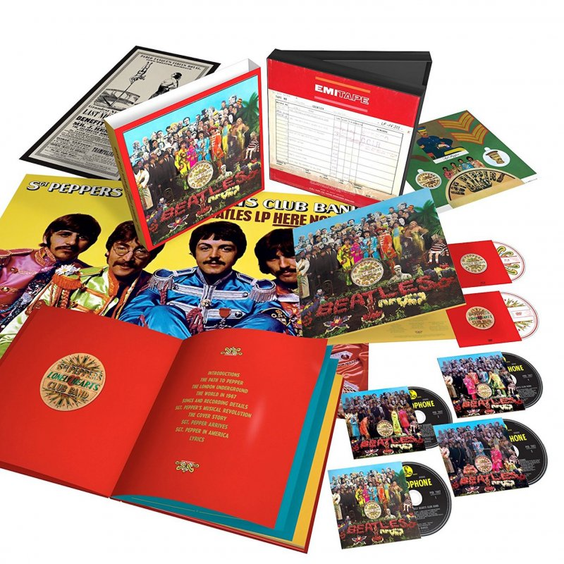 The Beatles - Sgt Peppers Lonely Hearts Club Band (4cd+dvd+bd) - CD