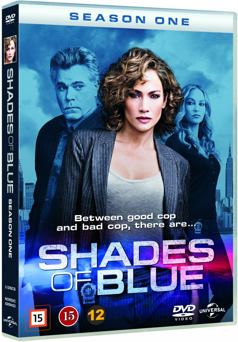 Image of   Shades Of Blue - Sæson 1 - DVD - Tv-serie