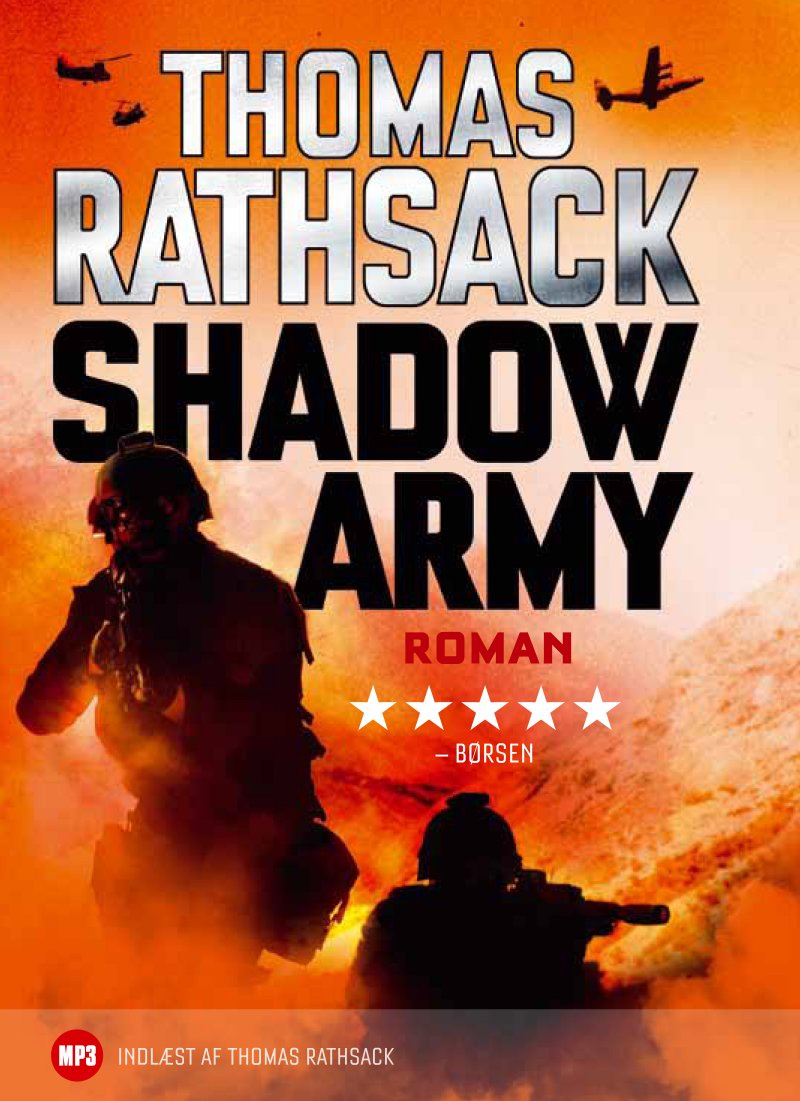 Image of   Shadow Army - Mp3 - Thomas Rathsack - Cd Lydbog