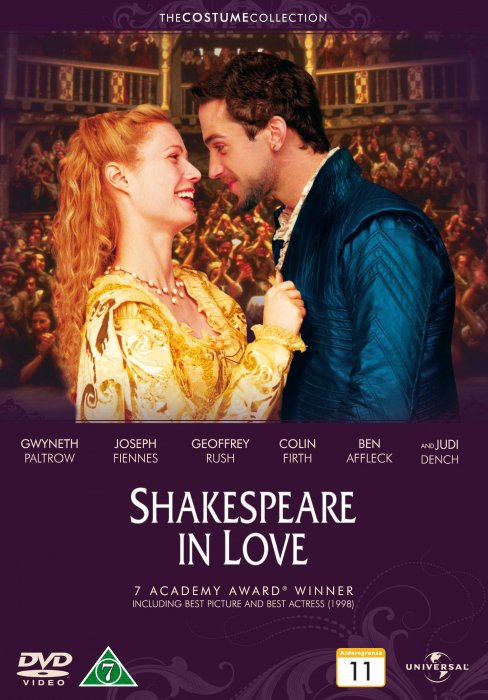 Image of   Shakespeare In Love - Costume Collection - DVD - Film