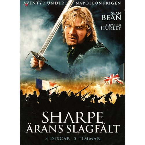 Image of   Sharpe - ärans Slagfält / ærens Slagmark - DVD - Film