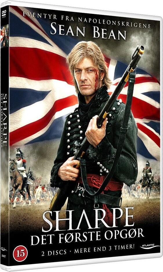 Image of   Sharpe 1 - Det Første Opgør - DVD - Film