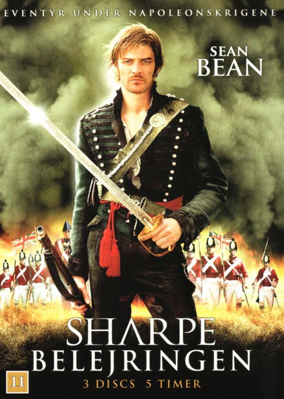 Image of   Sharpe 4 - Belejringen - DVD - Film