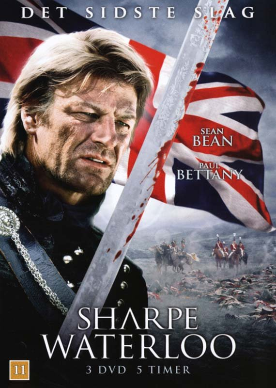 Image of   Sharpe 5 - Waterloo - DVD - Film