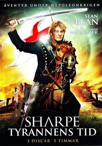 Image of   Sharpe - Tyrannens Tid - DVD - Film