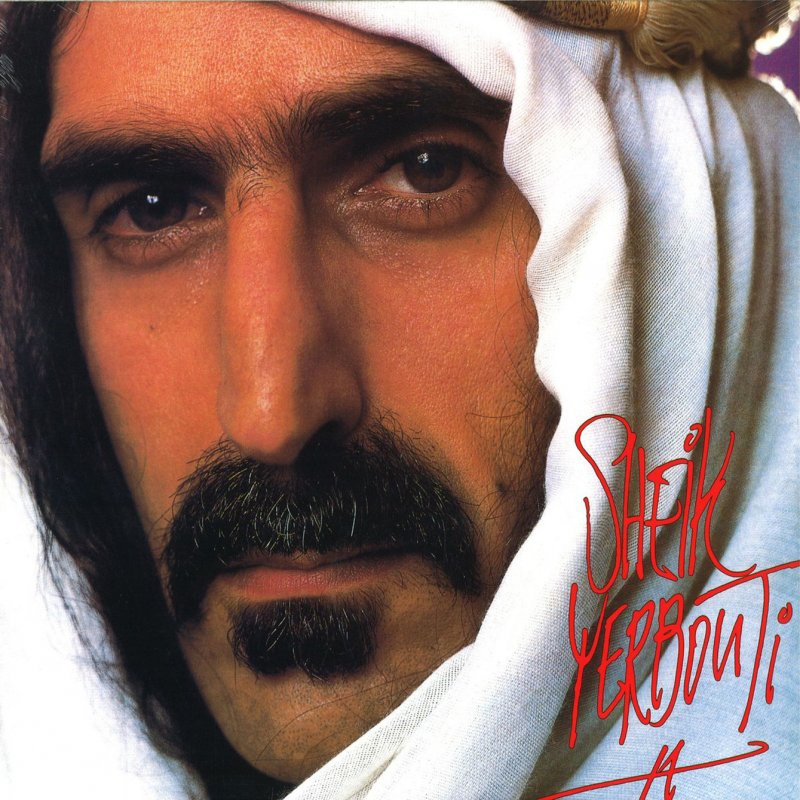 Frank Zappa Sheik Yerbouti Vinyl Lp K 248 B Lp En