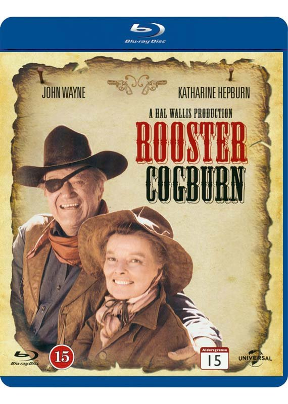 Rooster Cogburn / Sheriffen Og Pebermøen - Blu-Ray