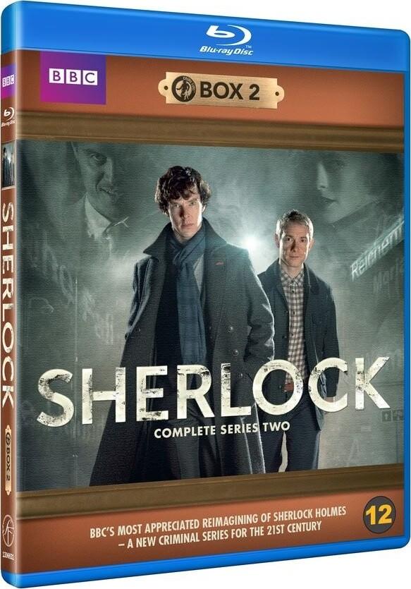 Sherlock Holmes - Sæson 2 - Bbc - Blu-Ray - Tv-serie
