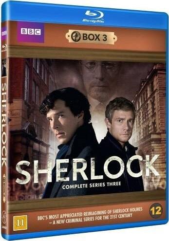 Sherlock Holmes - Sæson 3 - Bbc - Blu-Ray - Tv-serie