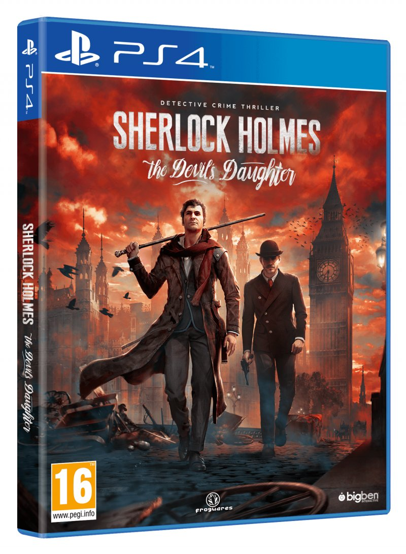 Image of   Sherlock Holmes: The Devils Daughter - PS4