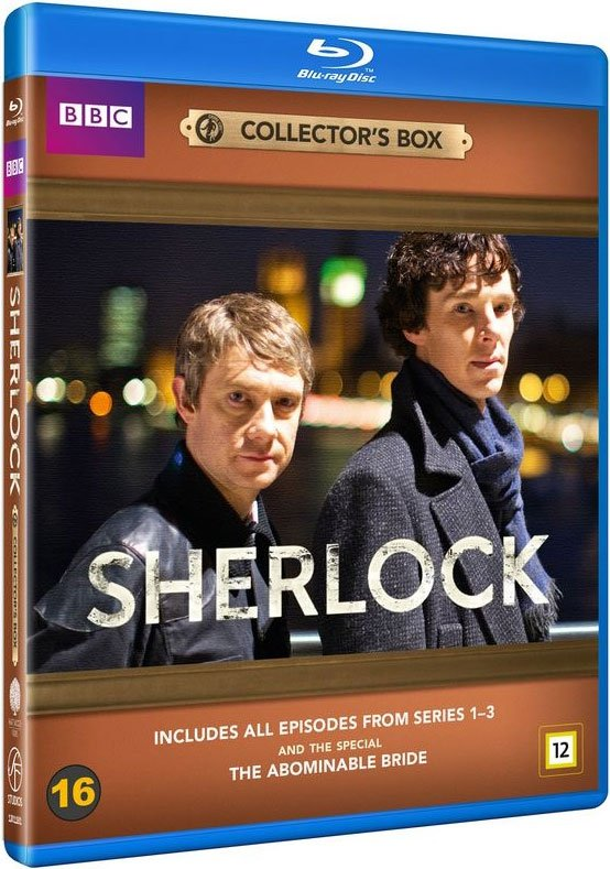 Sherlock Holmes Series - Sæson 1-3 + The Abominable Bride - Bbc - Blu-Ray - Tv-serie