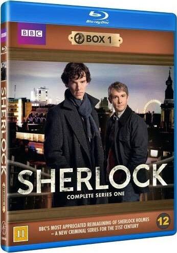 Sherlock Holmes - Sæson 1 - Bbc - Blu-Ray - Tv-serie
