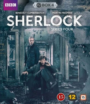 Sherlock Holmes - Sæson 4 - Bbc - Blu-Ray - Tv-serie