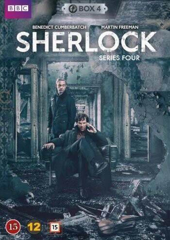 Sherlock Holmes - Sæson 4 - Bbc - DVD - Tv-serie