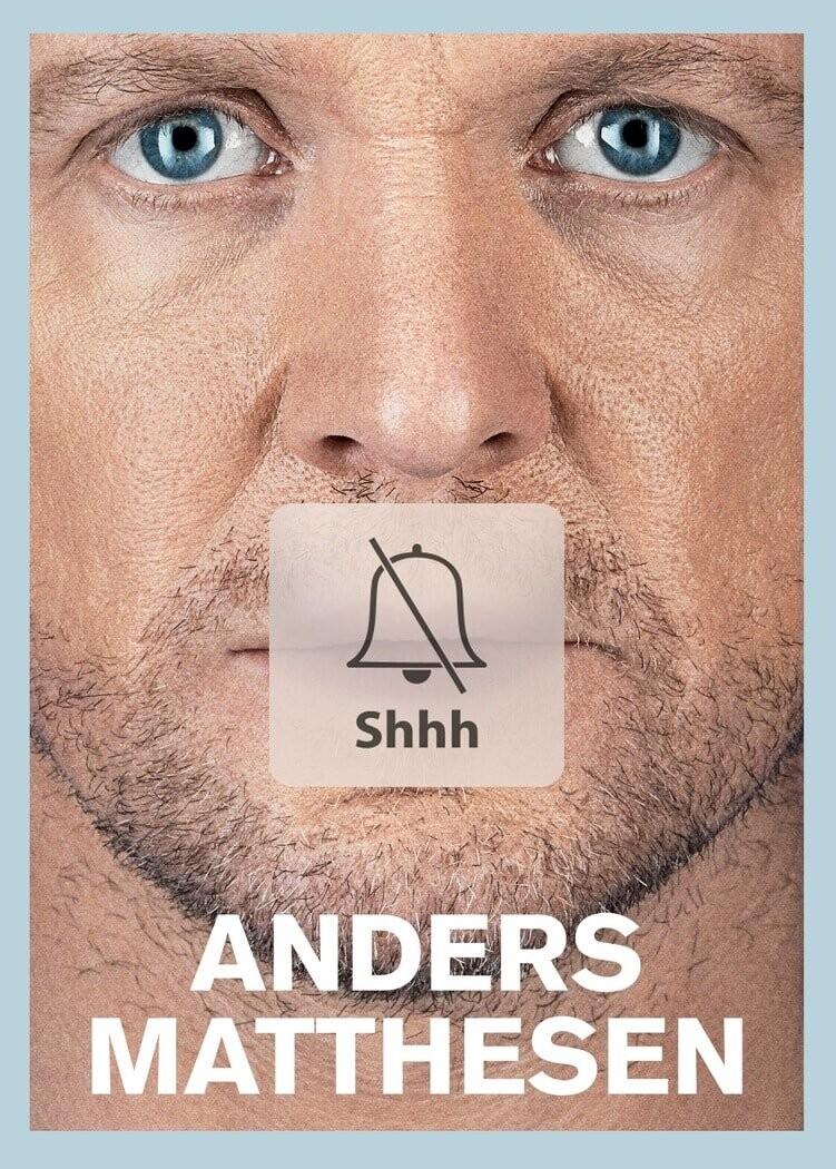 Image of   Shhh - Anders Matthesen Show 2016 - Anden - DVD - Film