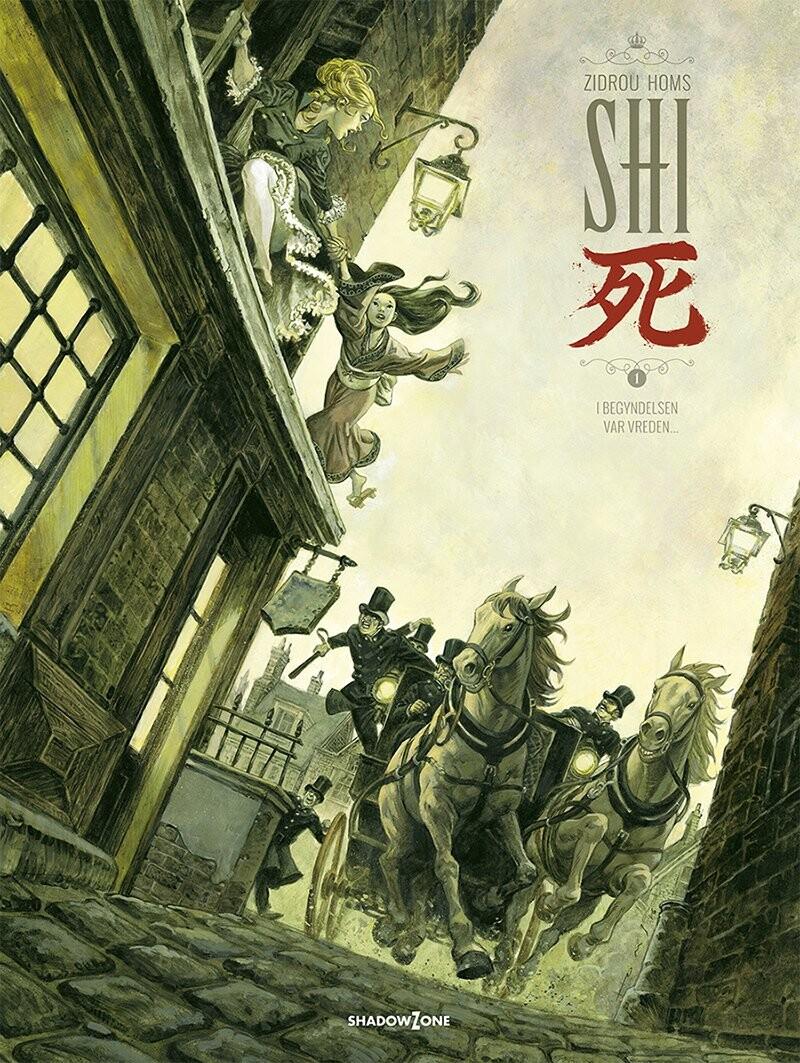 Billede af Shi 1 - I Begyndelsen Var Vreden - José Homs - Tegneserie