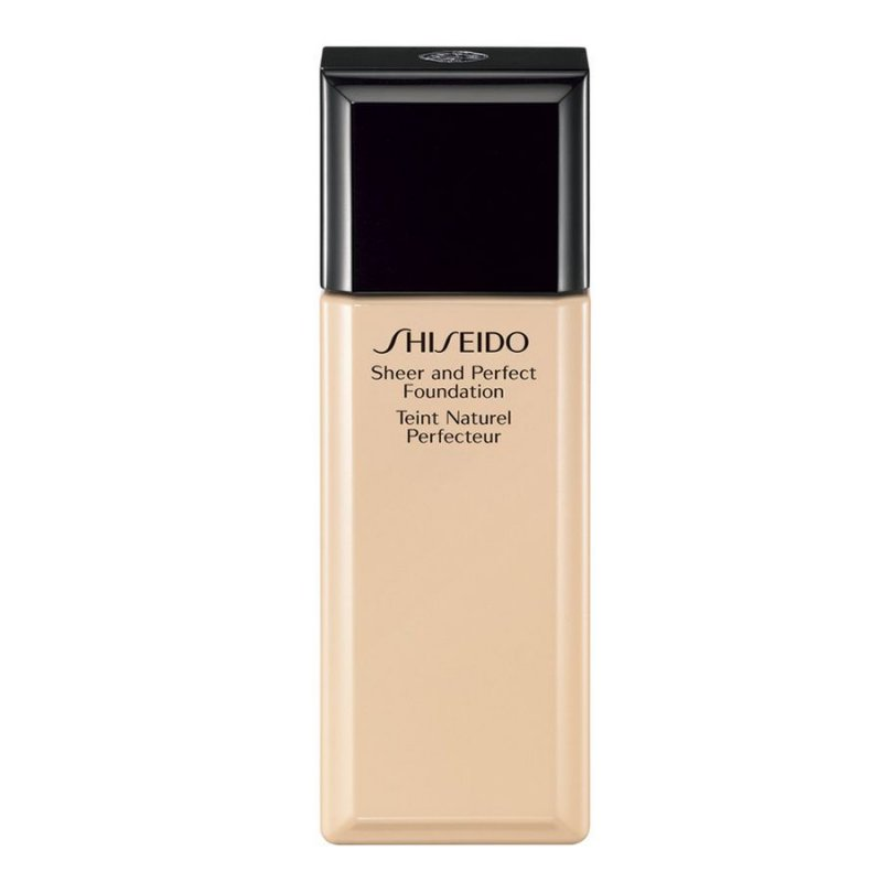 Image of   Shiseido Sheer And Perfect Foundation - D10 Golden Brown