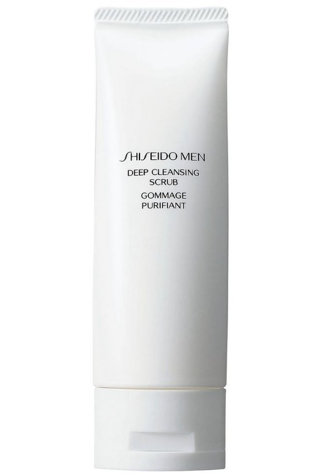 Shiseido Men Deep Cleansing Scrub - 125 Ml.