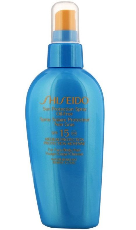 Image of   Shiseido Solcreme - Sun Protection Spray Oil-free Spf15 - 150 Ml