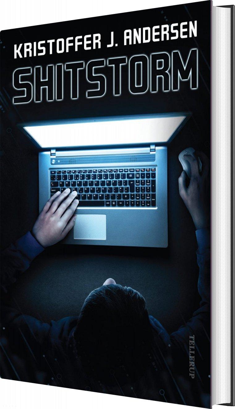 Image of   Shitstorm - Kristoffer J. Andersen - Bog