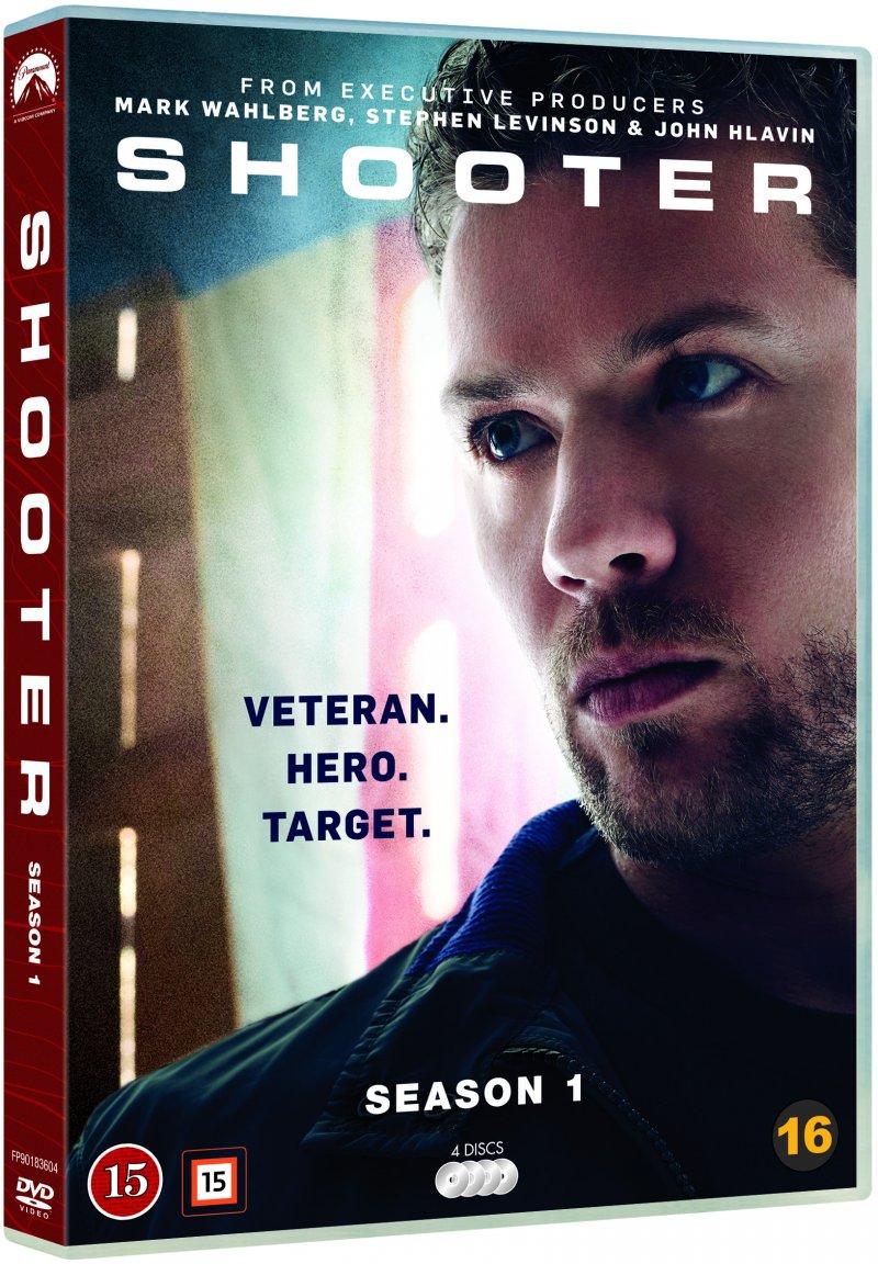 Billede af Shooter - Sæson 1 - DVD - Tv-serie