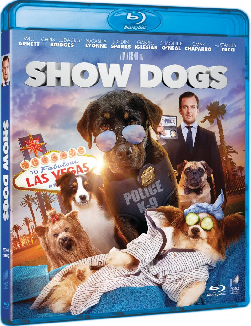 Image of   Show Dogs - Blu-Ray