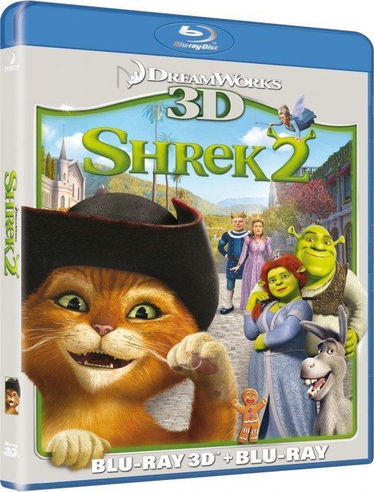 Image of   Shrek 2 - 3D Blu-Ray