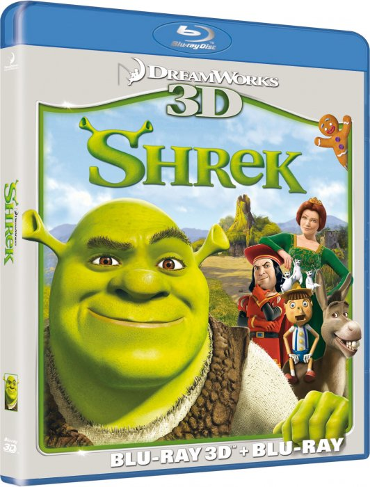 Image of   Shrek - 3D Blu-Ray