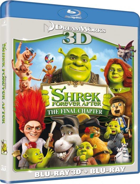 Image of   Shrek 4 Den Lykkelige - Forever After - 3D Blu-Ray