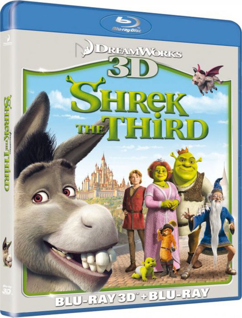 Image of   Shrek 3 - Den Tredje / The Third - 3D Blu-Ray