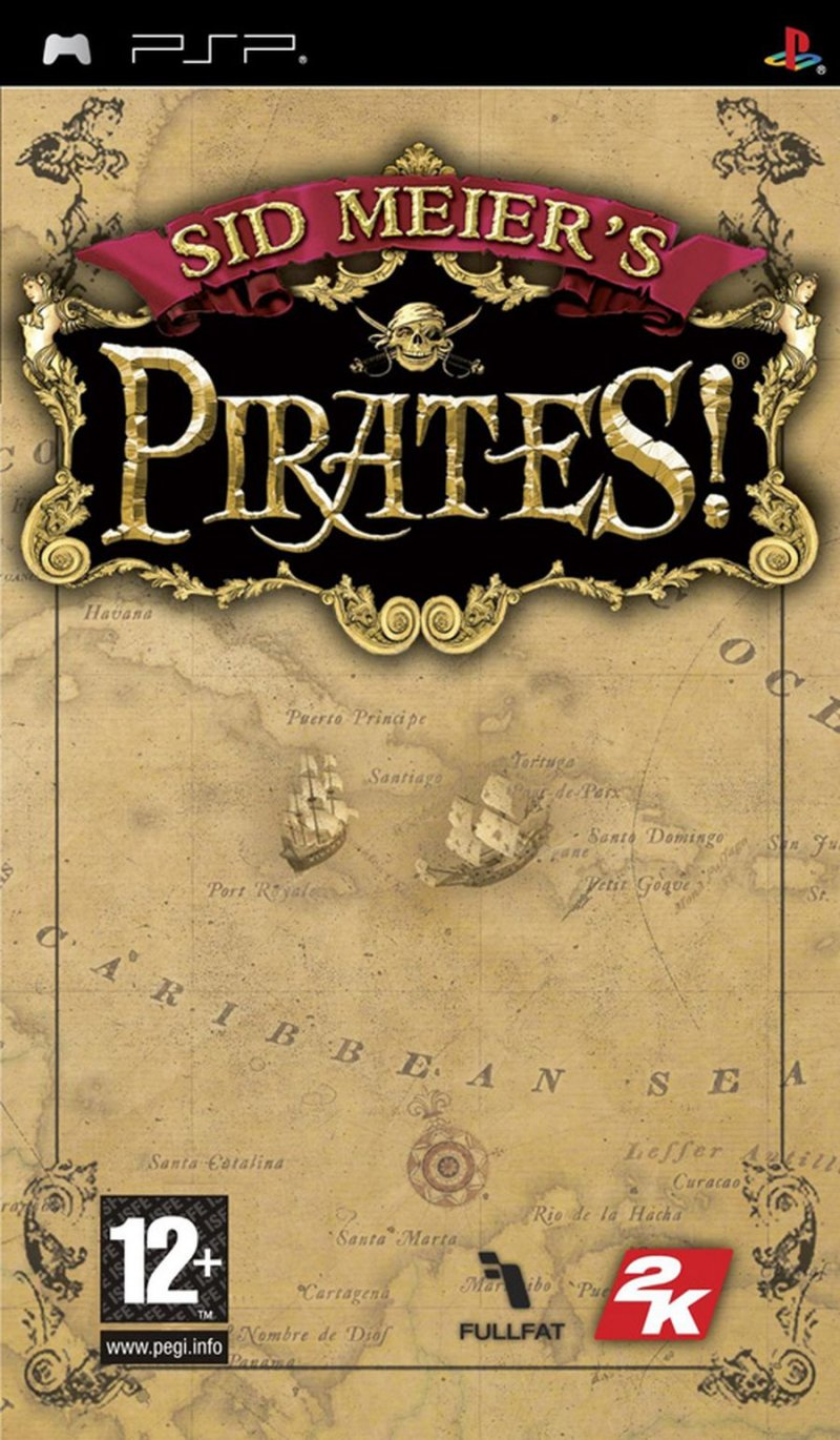 Sid Meiers Pirates! - Psp